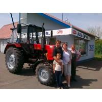 MTZ-820 traktorátadás