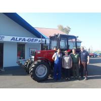 MTZ-892.2 traktorátadás