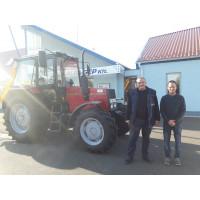 MTZ-820.4 traktor és  FRONTONI DRAGON 600 karos zúzó átadás