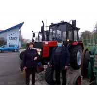 MTZ-820 traktor átadás