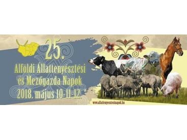 25. Alföldi Állattenyésztési és Mezőgazda Napok