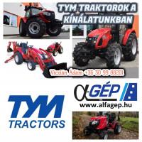TYM traktorok a kínálatunkban