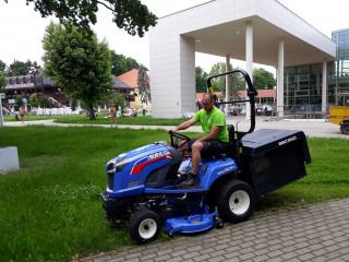 ISEKI SXG 323 fűnyíró traktor