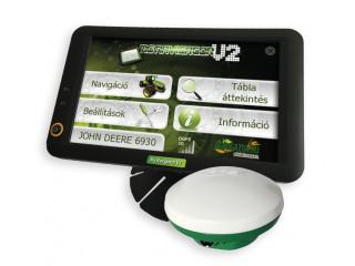 MG NAVIGÁTOR V2 sorvezető EPS GPS vevővel