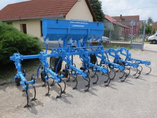 OMIKRON ORS/OMS sorküzművelő 700 kg-os műtrágyaszóró adapterrel