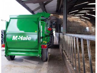 McHale C470 – vontatott kivitel/két darab 1.5m bálához