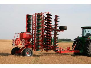 KVERNELAND a-drill pneumatikus vetőgép zöld trágyázáshoz is