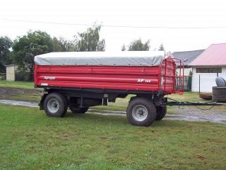 AP 208 kéttengelyes pótkocsi
