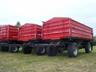 AP 2010 kéttengelyes pótkocsi