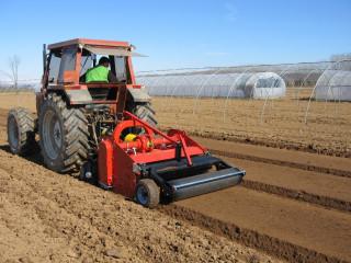 HORTECH AF SUPER talajmaró-ágyáskészítő