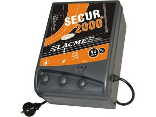 Secur 2000+ hálózati villanypásztor készülék